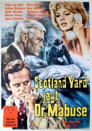 Scotland Yard vs. Dr. Mabuse