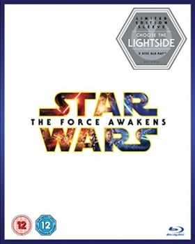 Star Wars: The Force Awakens [Limited Edition Light Side Artwork Sleeve] [Blu-ray + Bonus Disc] [201