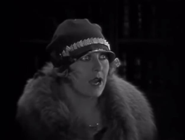 Image result for The Cat and the Canary 1927 gertrude astor
