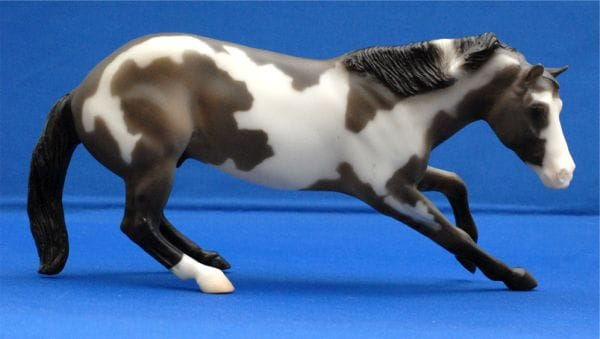 Breyer Classic Cutting Horse grullo paint is in your collection!