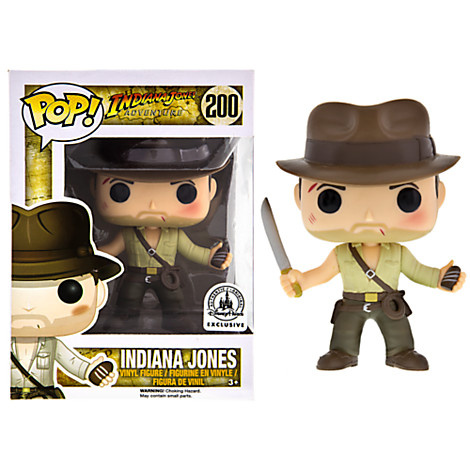 d4d63abad21 Picture of Indiana Jones Pop! Vinyl  Indiana Jones w  Sankara Stone Disney  Parks Exclusive