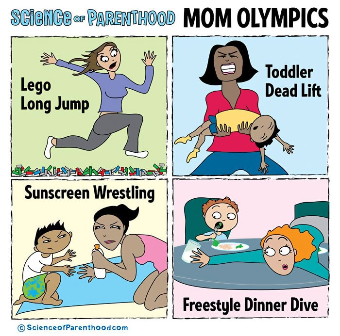 15  Funny Comics That Prove Parenting Is A Science