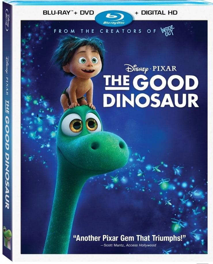 The Good Dinosaur (BD + DVD + Digital)