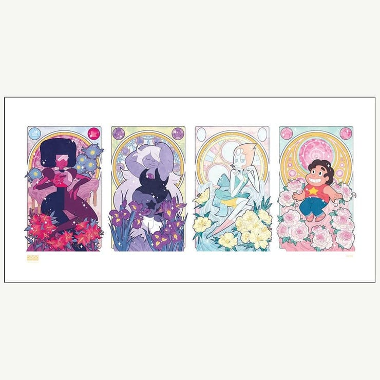 Steven Universe and the Crystal Gems Limited Edition Print by Missy Pena -- RETIRED