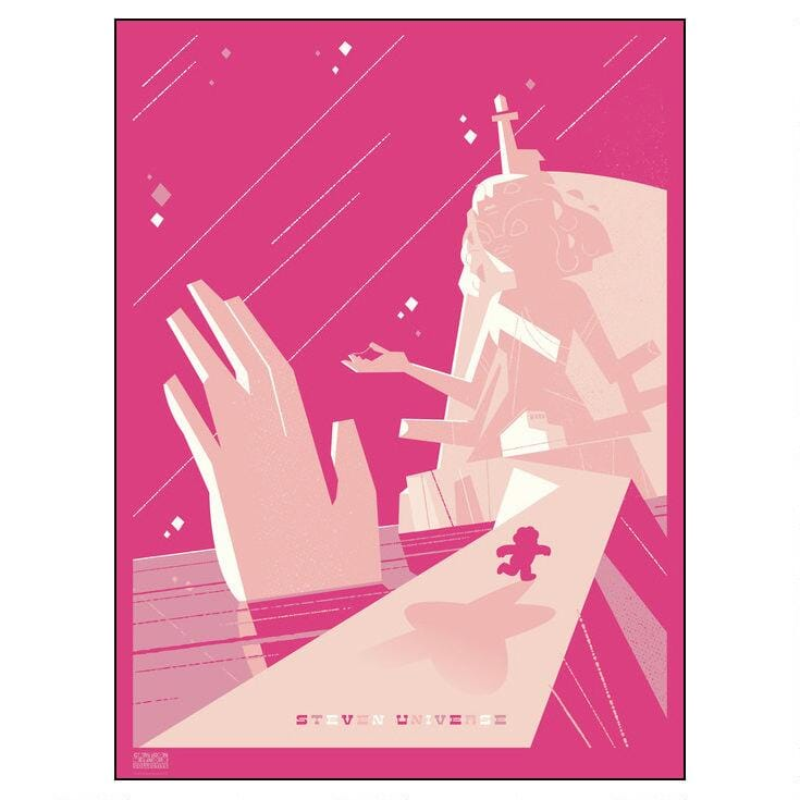 Steven Universe Limited Edition Screen Print Poster by Ty Mattson -- RETIRED