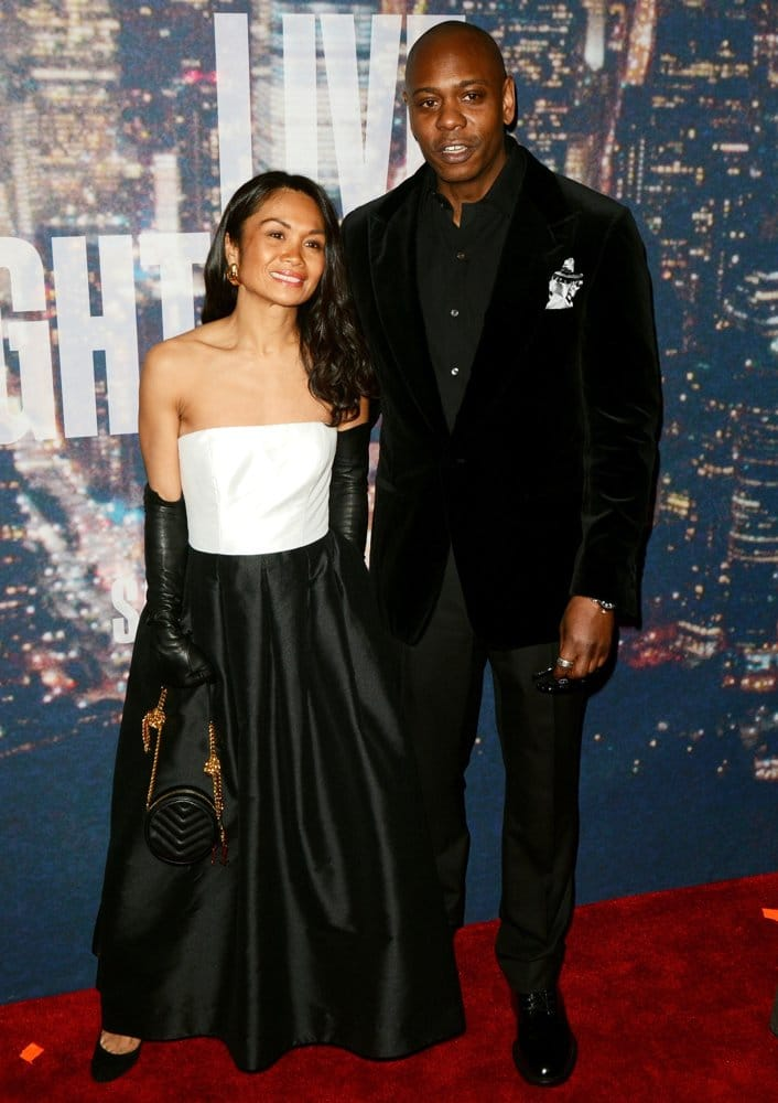Who is dave chappelle asian wife the same