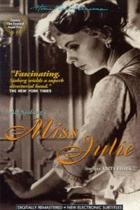 miss julie and swedish culture Miss julie ★★ froken julie 1950melodramatic stew adapted from from  in swedish with english  .