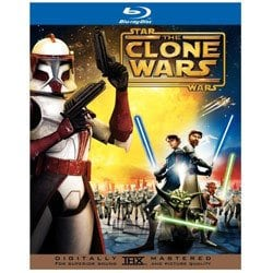 Star Wars CLONE WARS Blu-Ray Exclusive 2 Disc GIFT SET + Comic Book