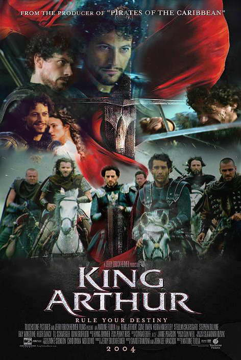King arthur movie poster controversy