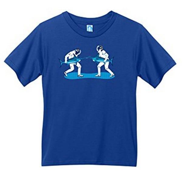 Shirt.Woot - Kids Swordfish Fencing T-Shirt - Royal Blue - 8