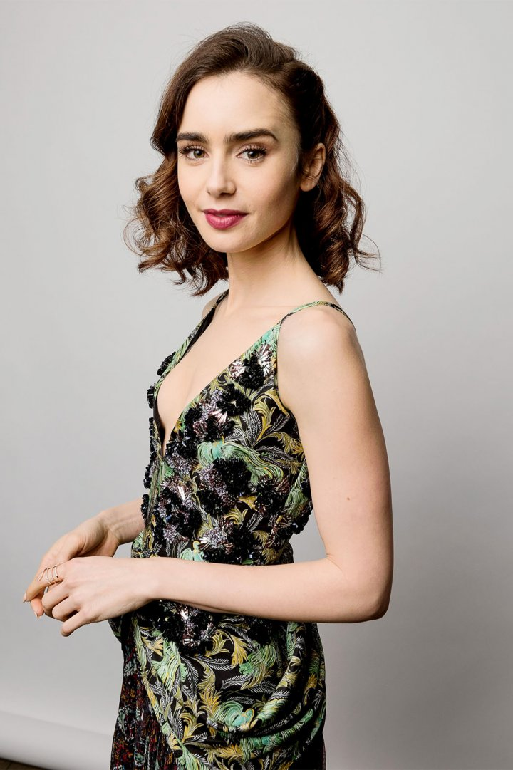 Lily collins photoshoot