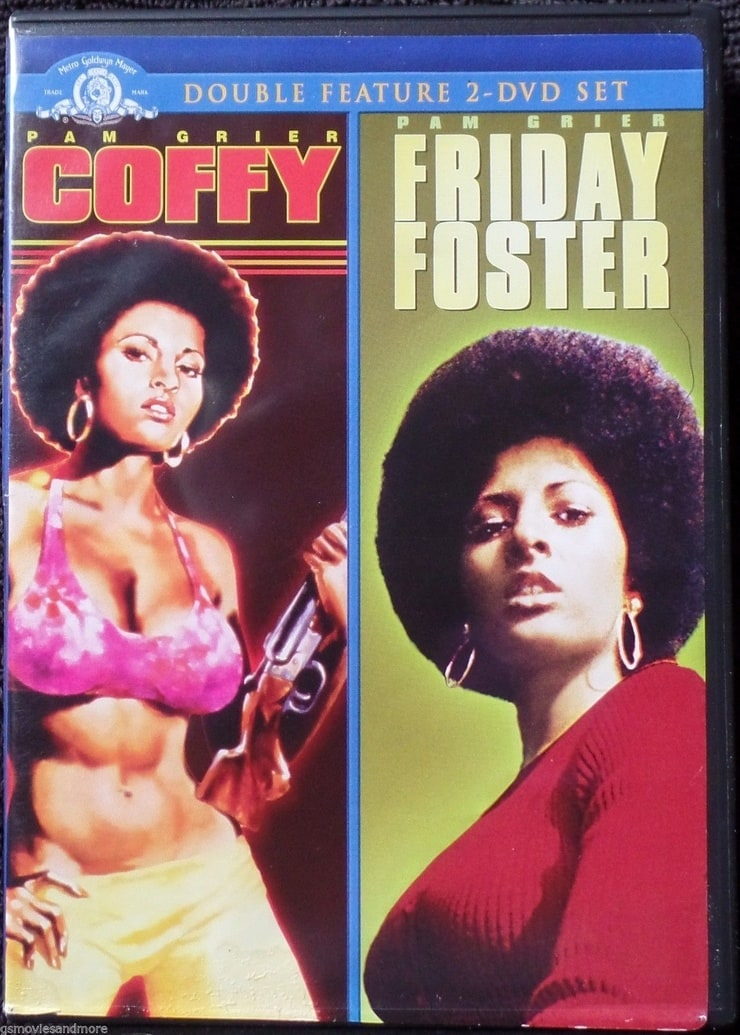 Pam Grier - Coffy & Friday Foster Double Feature 2 DVD Set