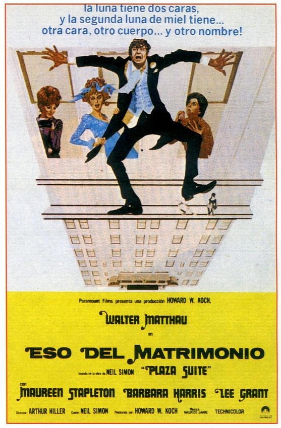 Plaza Suite                                  (1971)