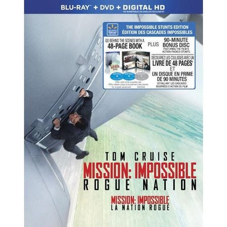 Mission: Impossible Rogue Nation Stunts Edition with 48 Page Book and 90 Minute Bonus Disc Combo Pac