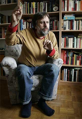 Picture of Slavoj Zizek