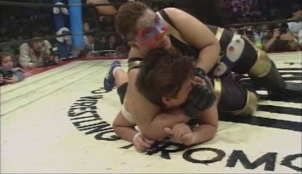Aja Kong & Bull Nakano vs. Akira Hokuto & Shinobu Kandori (3/27/94)