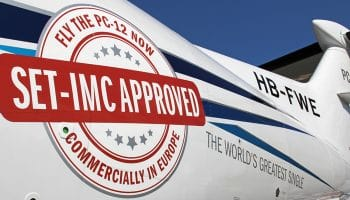 Pilatus PC-12 NG approved for commercial use in Europe