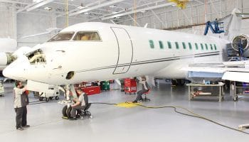 Duncan Aviation's main facilities performing global pre-purchase evaluations