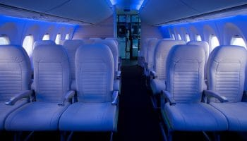 Bombardier Commercial Aircraft exhibit best-in-class C Series and CRJ cabins at the Aircraft Interiors Expo
