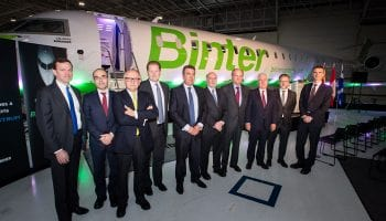 Binter joins Bombardier's CRJ1000 family