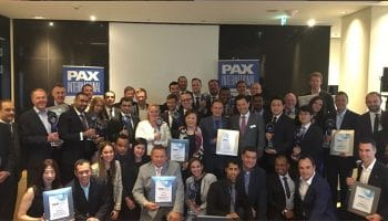 STG Aerospace won 'Best Cabin Interior Passenger Experience Award' at PAX International