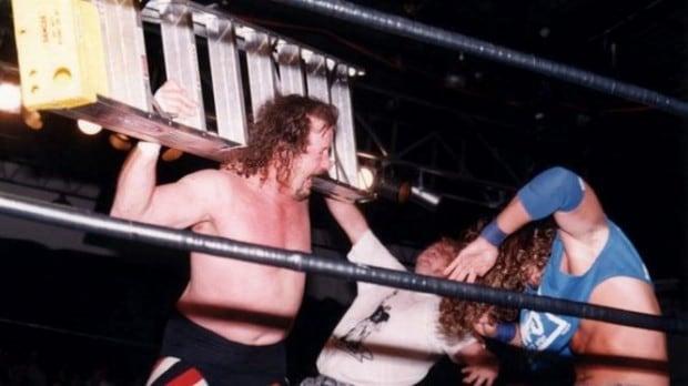 The Sandman vs. Terry Funk vs. Stevie Richards (4/13/97)