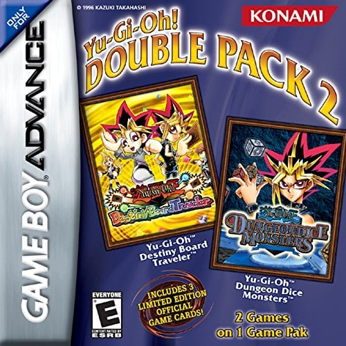 Yu-Gi-Oh! Double Pack 2, Destiny Board Traveler & Dungeon Dice Monsters with 3 Limited Edition Official Game Cards