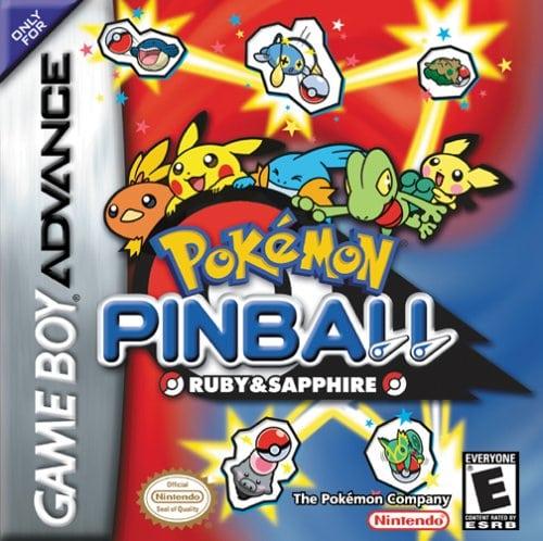 Pokemon Pinball Ruby and Sapphire