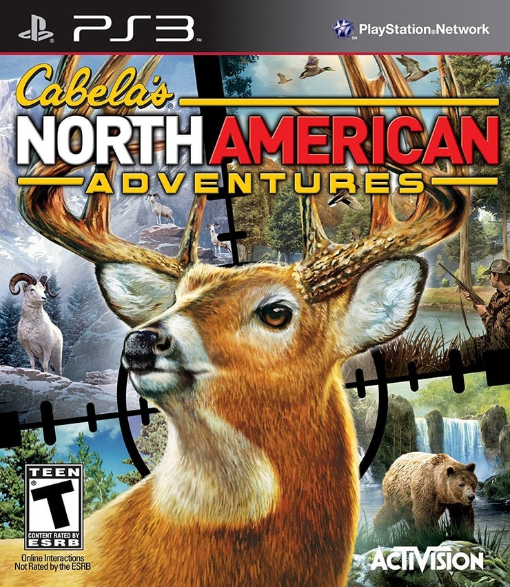 Cabela's North American Adventures - PlayStation 3 Standard Edition