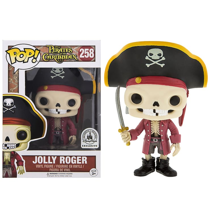 Pirates of the Caribbean Pop! Vinyl: Jolly Roger Disney Parks Exclusive