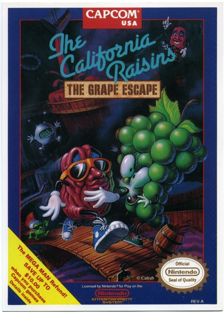 The California Raisins: The Grape Escape