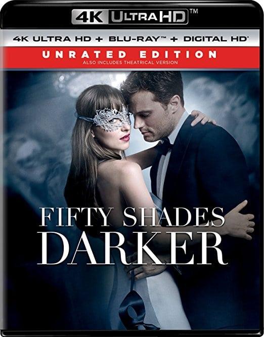 Fifty Shades Darker - Unrated Edition (4K Ultra HD + Blu-ray + Digital HD)