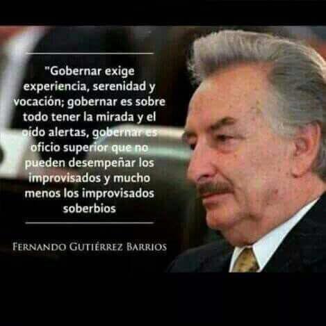 Palabras del padre del empresario, Jorge Gutierrez Morales