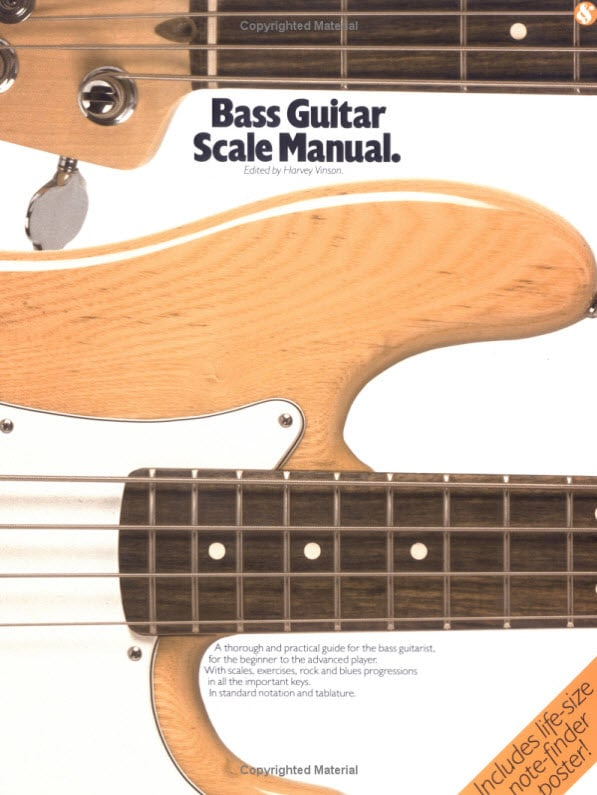 Bass Guitar Scale Manual