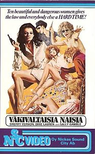 Ten Violent Women [Vhs]