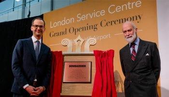 Bombardier opens new service centre at London Biggin Hill Airport