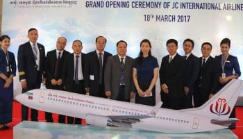 AJW and JC (Cambodia) International Airlines signs component support contract for 20 new A320 aircraft