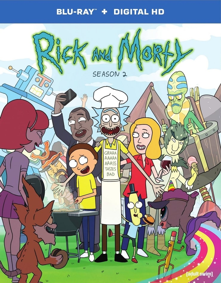 Rick and Morty: The Complete Second Season
