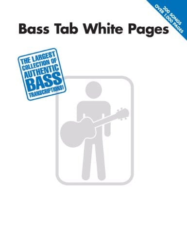 Bass Tab White Pages Songbook