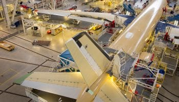 First Air Mauritius A350 XWB takes shape in Airbus' FAL
