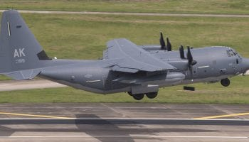 Lockheed Martin delivers first HC-130J Combat King II to Alaska Air National Guard