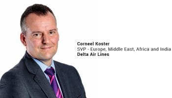 Delta appoints Corneel Koster as new senior vice president for Europe, Middle East, Africa and India