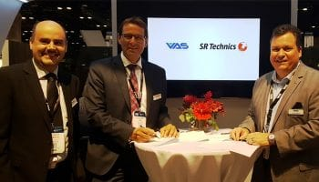 SR Technics sign new multi-year engine parts repair agreement with VAS Aero Services