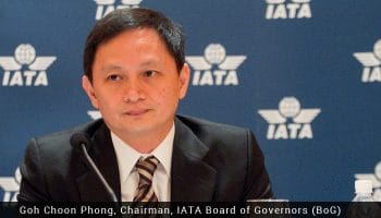 Goh Choon Phong selected as new IATA chairman