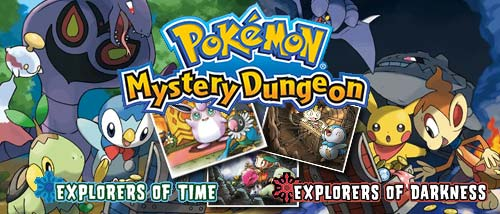 Image result for pokemon mystery dungeon explorers of time