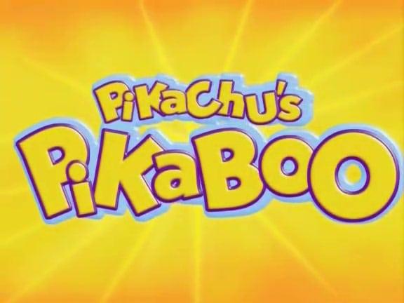 Pokemon: Pikachu's PikaBoo