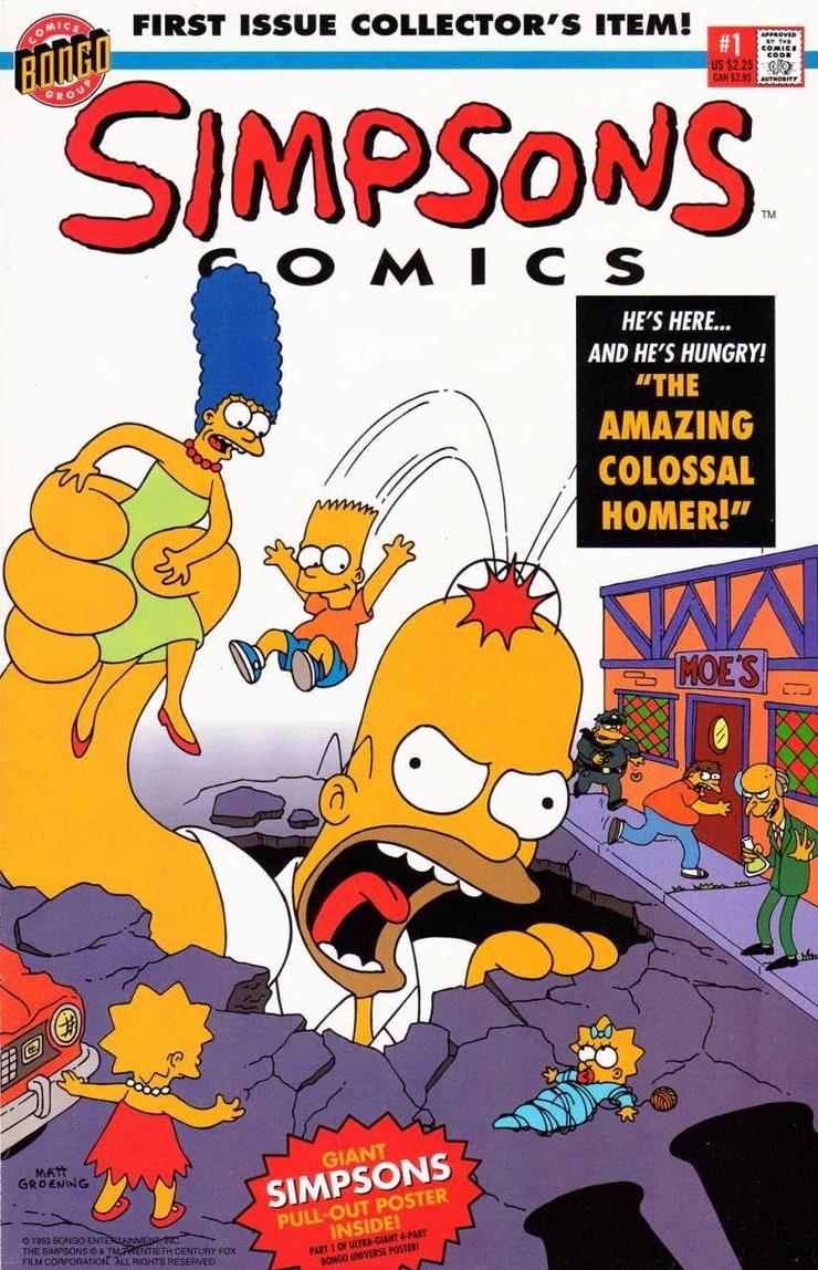 Simpsons Comics #1