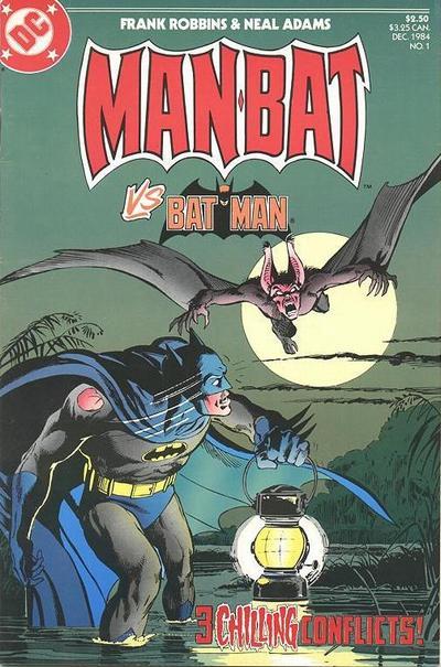Man-Bat No. 1: Man-Bat vs. Batman