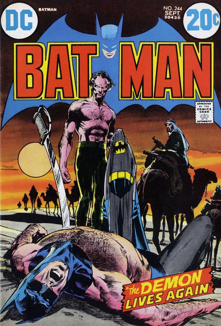 Batman #244 - Ra's al Ghul and Talia