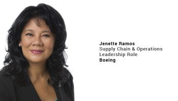 Boeing selects Jenette Ramos to Supply Chain & Operations Leadership role